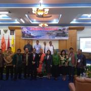 Seminar Nasional dihadiri wakil gubernur sumatera utara, kadis pariwisata pemprovsu, direktur Badan Pelaksana Otorita DanauToba, Badan Pelaksana Jalan dan Jembatan Nasional
