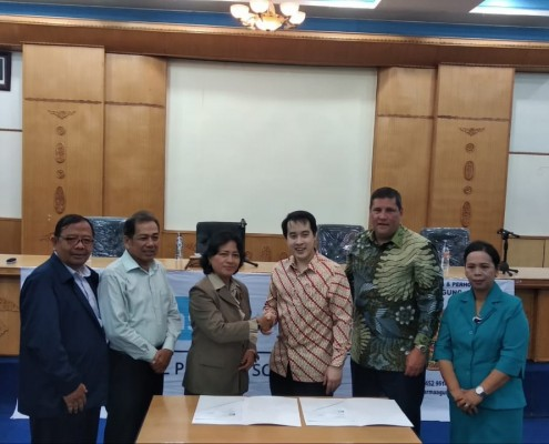 MOU App Darma Agung dengan PT Indo Mobil Edukasi Utama bekerja sama TeachCast With Oxford