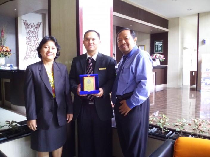 Kerjasama dengan Grand Kanaya Hotel