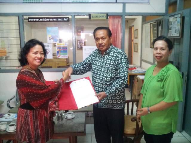 Kerjasama dengan STIPRAM Jogjakarta